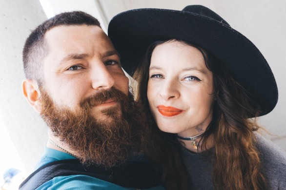 Jordan Chalom and Camille Stone