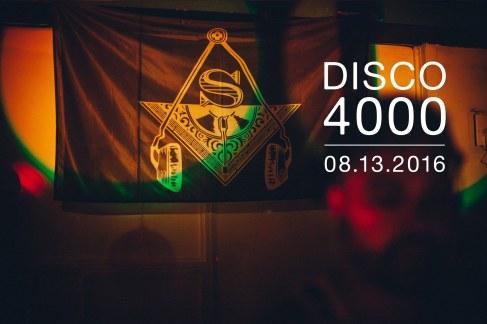 Secret Disco 4000 X Top Collective